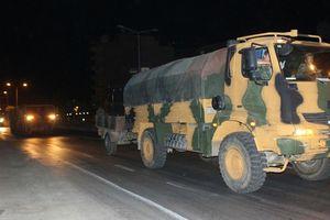 Thổ Nhĩ Kỳ vận chuyển kho vũ khí khổng lồ vào Idlib, Syria