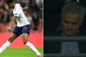 Rashford ghi bàn, Mourinho tỏ thái độ 'hiếm thấy'