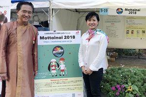 Chương trình Mottainai 2018 được chào đón tại Lễ hội Việt Nam ở Kanagawa, Nhật Bản