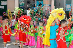Kiên Giang: Tổ chức Trung thu cho trẻ em hiệu quả và tiết kiệm