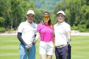 Dàn nghệ sĩ không ngại nắng tham gia giải Golf từ thiện của Chi Bảo
