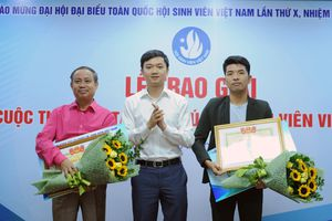 Trao giải 'Cuộc thi sáng tác ca khúc về Sinh viên Việt Nam'