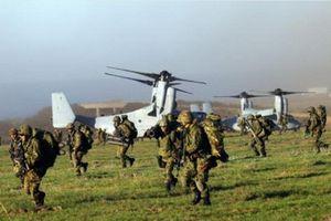 Quân đoàn cơ động đổ bộ của Nhật Bản tăng cường huấn luyện