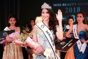 Người đẹp Long An giành ngôi vị Á hậu 2 Hoa hậu sắc đẹp toàn cầu 2018