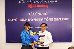 Báo Người Lao Động có Tổng biên tập mới