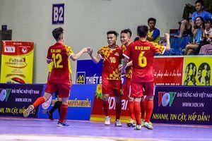 Giải VĐQG Futsal HDBank: Sanatech Sanest Khánh Hòa lên ngôi nhì