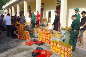 Lạng Sơn: Liên tiếp bắt giữ số lượng lớn pháo vận chuyển trái phép