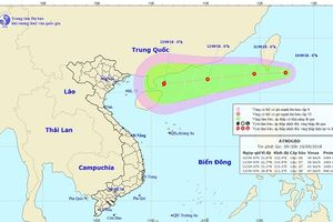 Xuất hiện siêu bão Mangkhut di chuyển vào Bắc Biển Đông trong vài ngày tới