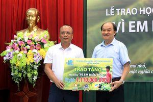 1.110 suất học bổng 'Vì em hiếu học' sẽ được trao cho học sinh nghèo, vượt khó tại Nghệ An