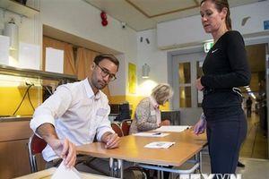 Đảng Dân chủ Xã hội cầm quyền của Thủ tướng Thụy Điển đang dẫn đầu