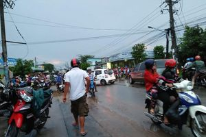 Nam thanh niên bị nước mưa cuốn xuống cống tử vong thương tâm