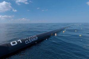 Mỹ: Hệ thống dọn rác quy mô lớn nhất đại dương sẵn sàng đi vào hoạt động