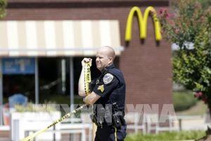 Nổ súng tại một quán McDonald gần trường đại học ở Mỹ