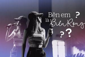 Clip 'độc': Không phải Gia Nghi (The Voice), Hương Giang mới là người hát 'Bên em là biển rộng' tại tổng duyệt Siêu mẫu