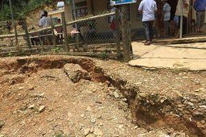 Tương Dương (Nghệ An): Di dời 2 điểm trường xuất hiện nhiều vết nứt ở Mai Sơn