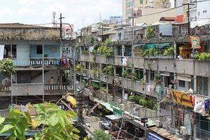 TP.HCM: Loay hoay bài toán cải tạo chung cư cũ