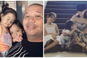 Ngắm hai công chúa đáng yêu của vợ chồng Phạm Quỳnh Anh - Quang Huy
