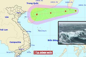 Tin áp thấp nhiệt đới mới nhất 10/9: Khả năng mạnh thành bão số 5