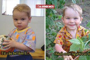 16 hình ảnh trẻ em mồ côi trước và sau khi được nhận nuôi có thể làm tan chảy trái tim bạn