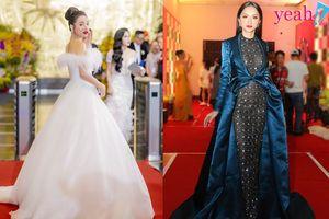 Thảm đỏ 2 sự kiện hot nhất tuần qua: Nhã Phương lộng lẫy như công chúa, Hương Giang mắc lỗi