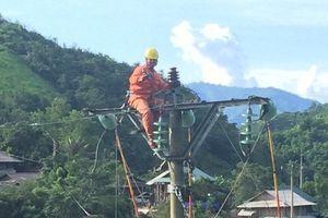 Điện lực Thanh Hóa tập trung khắc phục hậu quả lũ lụt