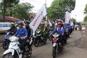 1.000 đoàn viên, thanh niên tham gia Ngày hội văn hóa giao thông