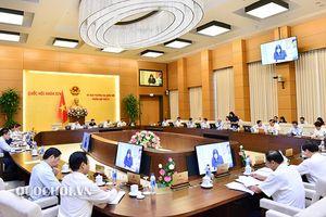 Ủy ban Thường vụ Quốc hội khai mạc phiên họp thứ 27