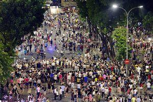 Đề xuất triển khai không gian đi bộ tại phố Đinh Liệt
