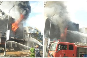Đà Nẵng: Cháy lớn quán bar ở quận trung tâm, nguyên nhân lại do hàn xì, sửa chữa?