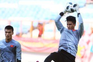 Thủ môn U23 Việt Nam chưa lần nào ra sân ở V.League 2018