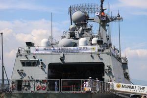 Tàu khu trục của hải quân Hàn Quốc thăm Đà Nẵng