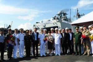 Tàu Hải quân Hàn Quốc thăm xã giao Đà Nẵng