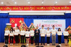 Trường ĐH Ngoại ngữ (ĐH Đà Nẵng) khai giảng năm học mới 2018 – 2019