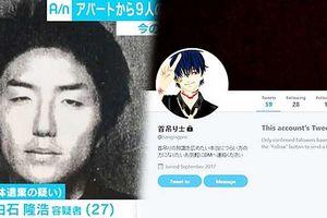 'Sát thủ Twitter' bị truy tố 9 tội giết người, chặt xác
