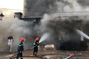 Cháy lớn vũ trường ở trung tâm Đà Nẵng
