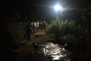Đà Lạt mưa lớn, một thanh niên bị nước cuốn mất tích