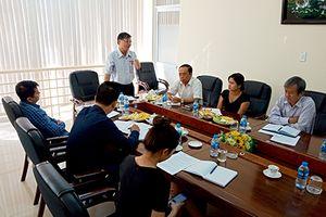 Đoàn công tác của Ban Kiểm tra Hội Nhà báo Việt Nam giám sát hoạt động tại Hội Nhà báo Hậu Giang