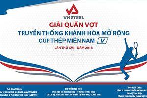 Giải Quần vợt truyền thống Khánh Hòa mở rộng - Cúp Thép Miền Nam 2018