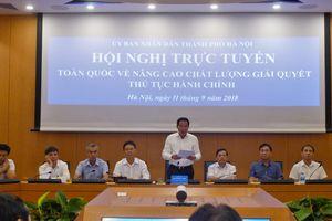 Hà Nội hiện có 556 dịch vụ công trực tuyến mức độ 3, 4