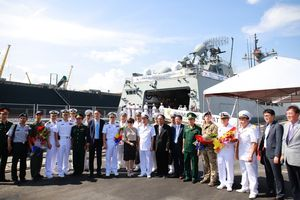 Tàu khu trục của Hải quân Hàn Quốc thăm chính thức Đà Nẵng