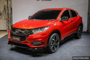 Ảnh thực tế Honda HR-V, mẫu xe sắp có mặt tại Việt Nam