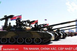 Điểm danh những vũ khí hạng nặng trong lễ diễu binh Triều Tiên