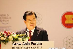 Diễn đàn Tăng trưởng châu Á 2018 trong khuôn khổ WEF ASEAN 2018