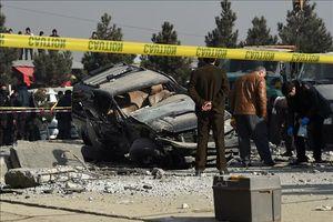 Đánh bom liều chết trong đám đông biểu tình tại Afghanistan