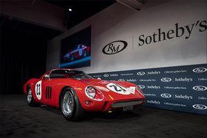 Top 20 chiếc xe đắt nhất từng được bán đấu giá