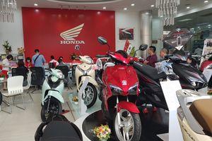 Xe ga Vision tiếp tục dẫn đầu doanh số xe máy Honda