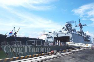 Tàu Hải quân Hàn Quốc thăm xã giao TP Đà Nẵng