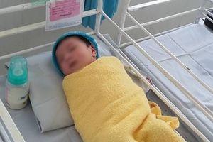 Bé sơ sinh bị sản phụ bỏ rơi tại bệnh viện