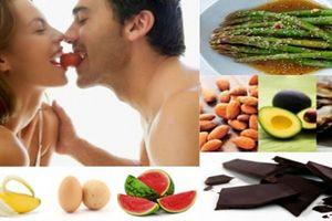 Tránh ăn gì trước khi làm chuyện ấy?