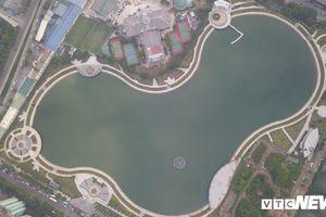 Sau hai năm 'đắp chiếu', công viên 300 tỷ đồng ở Hà Nội được đưa vào sử dụng